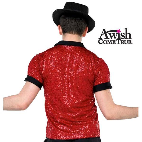 Sequin Placket Shirt 3
