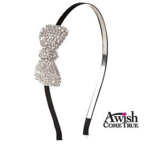Rhinestone Bow Headband
