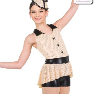 418  Sequin Military Character Dance Costume A