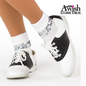 Socks With Sequin Band