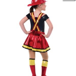522  Great Balls Of Fire Character Costume Back