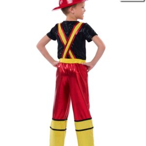 523  Great Balls Of Fire Character Costume Boys Back