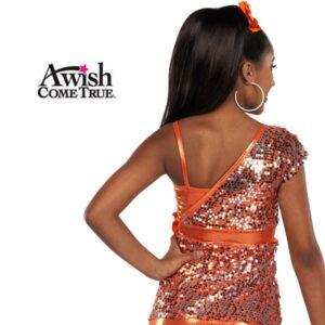 Walk This Way - Orange - Sequin - Jazz/Tap Dance Top 2