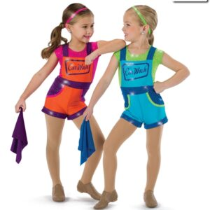 577  Car Wash Themed Character Dance Costume