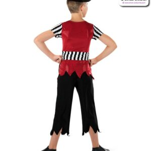 581  Pirates Life Boy Pirate Character Performance Dance Top Back