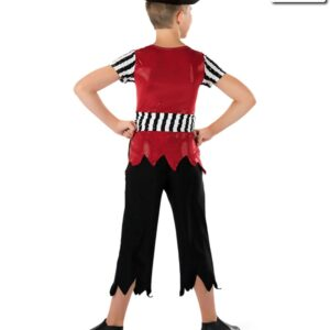 581  Pirates Life Boys Jazz Tap Character Value Dance Top Back