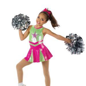 586  Cheerleader Character Jazz Dance Costume
