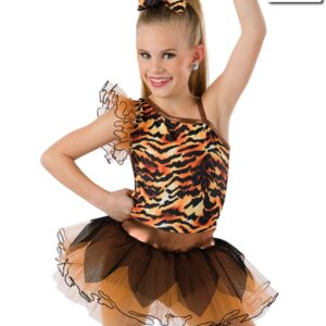 593  Cant Be Tamed Tiger Character Dance Costume