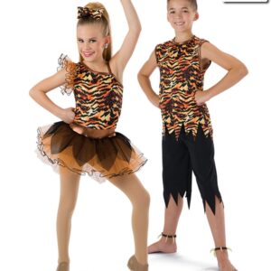 593  Cant Be Tamed Tiger Character Dance Costume Matching