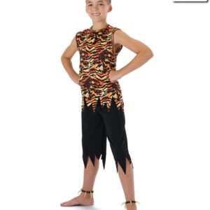 594  King Of The Jungle Guys Character Dance Costume