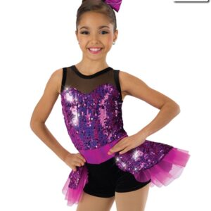 607  Name In Lights Jazz Tap Value Costume