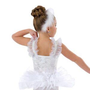 614  Baby Swans Ballet Character Dance Costume Back