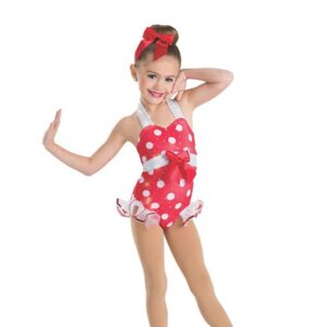 635  Beach Party Toddler Tap Dance Costume