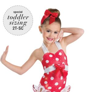 635  Beach Party Toddler Tap Dance Costume A