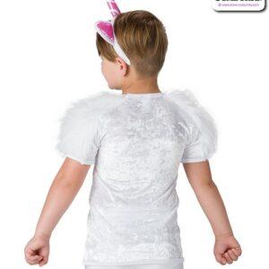 663 ND  Last Unicorn Guy Top Headband Character Unicorn Dance Costume Back