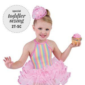 697  Cupcake Cutie Toddler Tap Dance Costume A