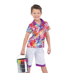 706  Come Paint With Me Boys Character Performance Dance Costume
