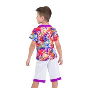 706  Come Paint With Me Boys Character Performance Dance Costume Back