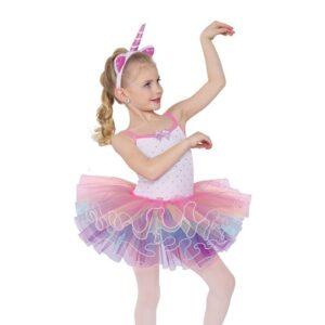 751  Unicorn Song Toddler Dance Costume
