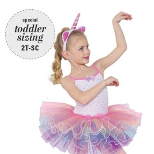 751  Unicorn Song Toddler Dance Costume A