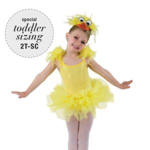 752  Sequin Chick Character Dance Costume A