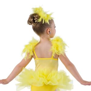 752  Sequin Chick Character Dance Costume Back