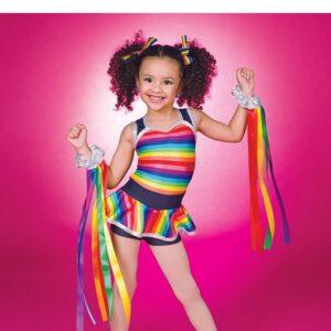 754  Rainbow Jazz Dance Shortall1