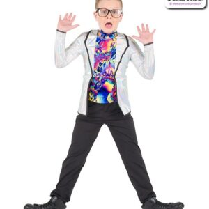 763  Hologram Scientist Boys Character Dance Costume