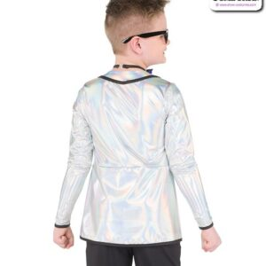 763  Hologram Scientist Boys Character Dance Costume Back