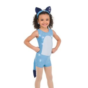 767  Sequin Dog Character Dance Costume