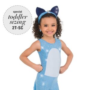 767  Sequin Dog Character Dance Costume A