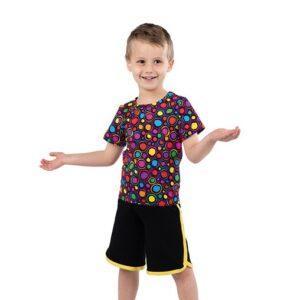 770  Jack In The Box Polka Dot Boys Dance Top