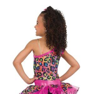775  Bedrock Flintsones Character Dance Costume Back
