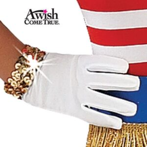 White Gloves - With Sequin 2