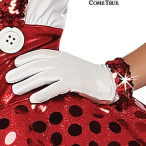 White Gloves - With Sequin