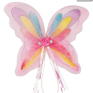 A786  Rainbow Wings Dance Costume Accessory A