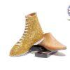 Gold Glitter Jazz Boot
