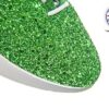 Green Glitter Jazz Shoe Detail