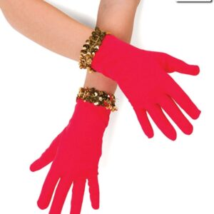 Red Sequin Gloves 2