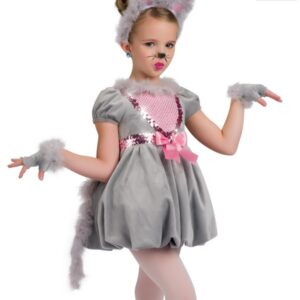 H465  Mousing Around Christmas Themed Dance Costume