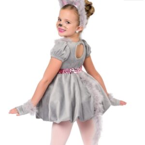 H465  Mousing Around Christmas Themed Dance Costume Back
