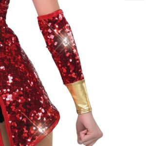 H471M  Wooden Soldier Mitts Christmas Themed Dance Costume Accessory B