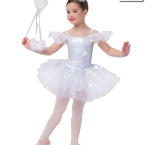 H490  Winter Song Christmas Themed Performance Ballet Tutu