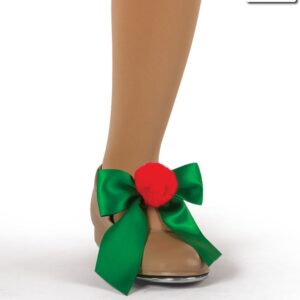H501 SB  Tinseltown Shoe Bows Christmas Jazz Costume Accessory