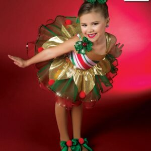 H501  Tinseltown Christmas Jazz Costume A