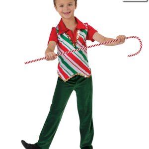 H502  Tinseltown Christmas Costume Jazz Guy Top
