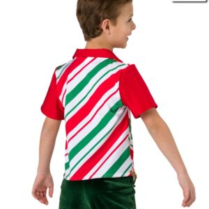 H502  Tinseltown Christmas Costume Jazz Guy Top Back