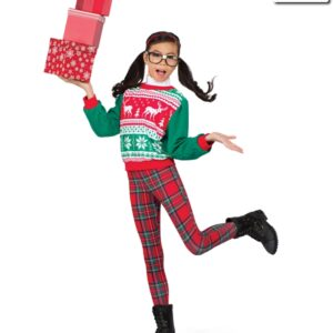 H506  Jolly To The Core Christmas Jazz Costume