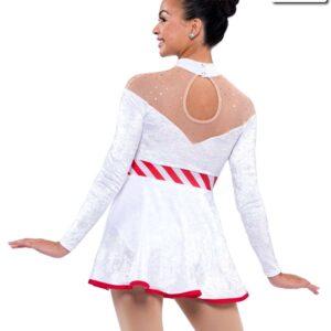 H518  Boogie Woogie Christmas Winter Wonderland Themed Character Dance Costume Back