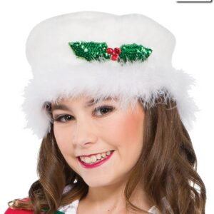 H528 A  Sequin Holly Pin Dance Costume Accessory